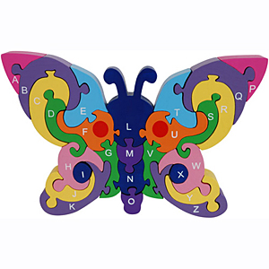 Alphabet Butterfly Puzzle giveaway