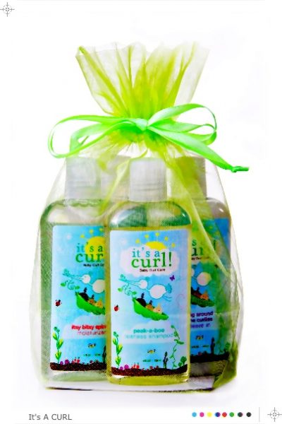 """It's a Curl"" Organic Baby Curl Care – Giveaway"