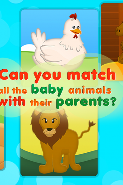 Animals, Babies and Home Game App Giveaway