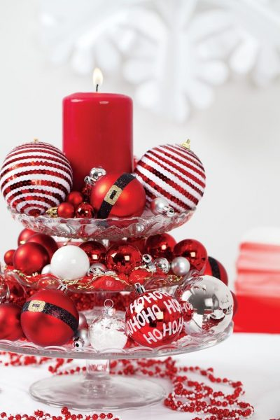 Easy-To-Make Holiday Table Centerpiece Ideas
