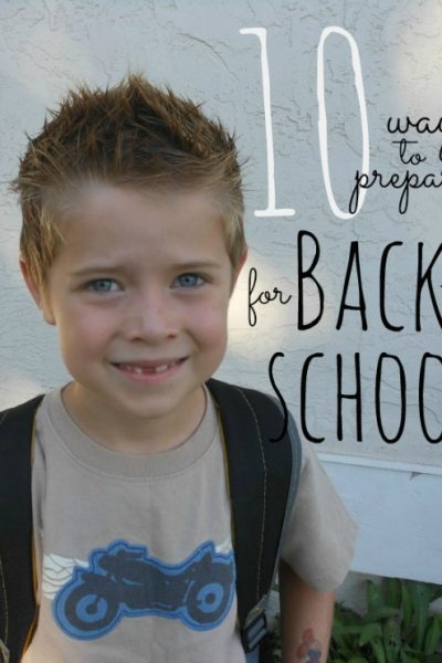 Calming Back to School Jitters!