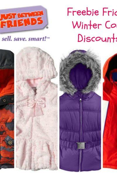 Freebie Friday: Winter Coat Discounts