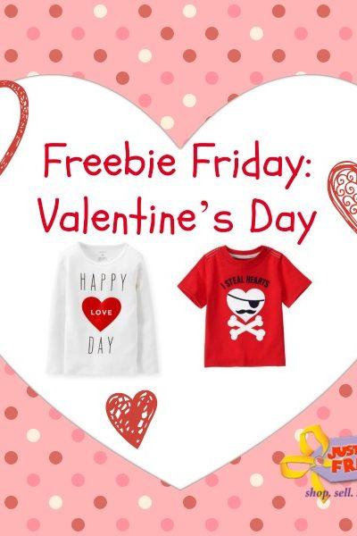 Freebie Friday: Valentine's Day Discounts