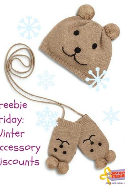 Freebie Friday: Winter Accessory Discounts