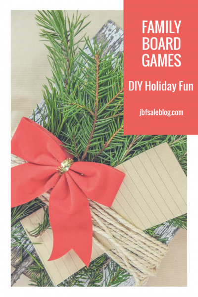 Family Board Games: DIY Holiday Fun