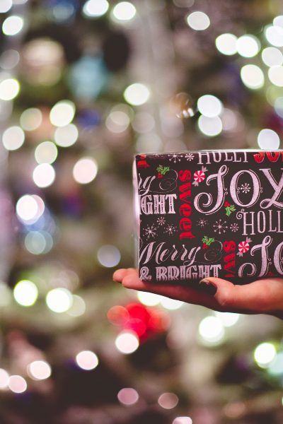 A Twist on Christmas Gift Wrapping