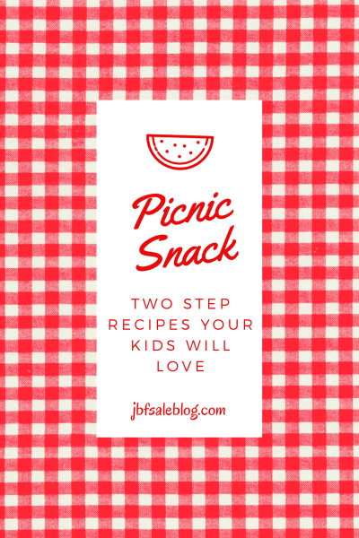 Picnic Snack: Two-Step Recipes Your Kids Will Love
