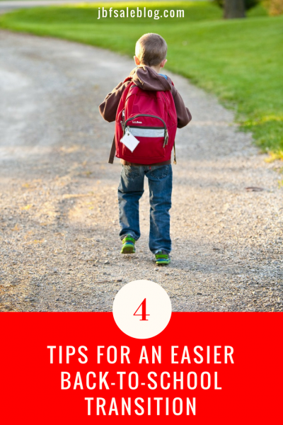 4 Tips for an Easier Back to School Transition
