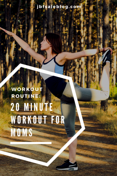 Workout Routine: 20 Minute Fitness for Moms