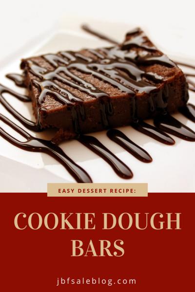 Easy Dessert Recipe: Cookie Dough Bars