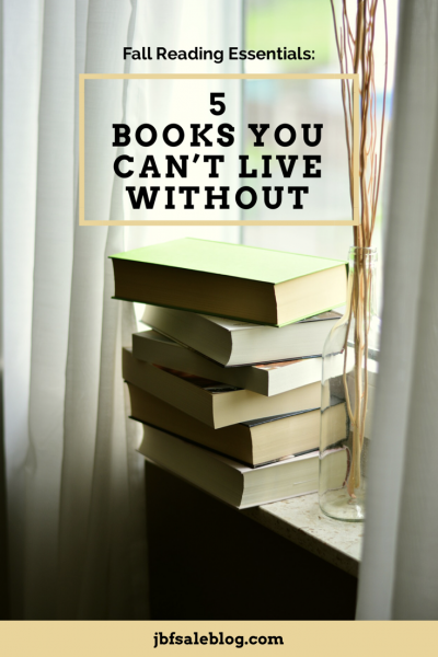 Fall Reading Essentials: 5 Books You Can't Live Without