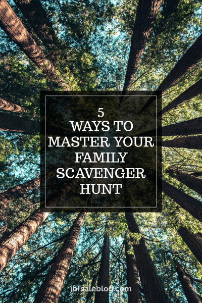 4 Ways to Master Your Family Scavenger Hunts
