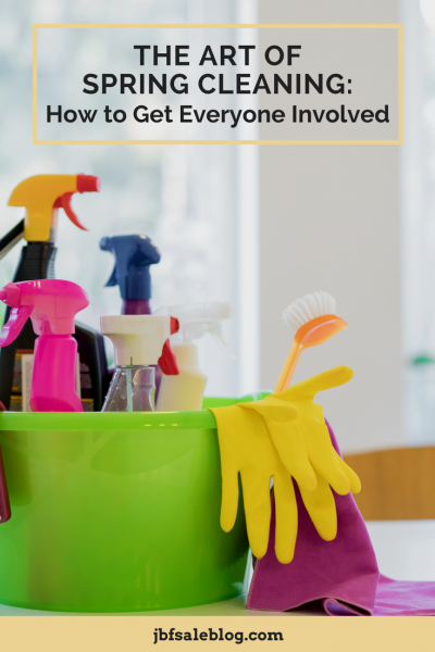 The Art of Spring Cleaning: How to Get Everyone Involved