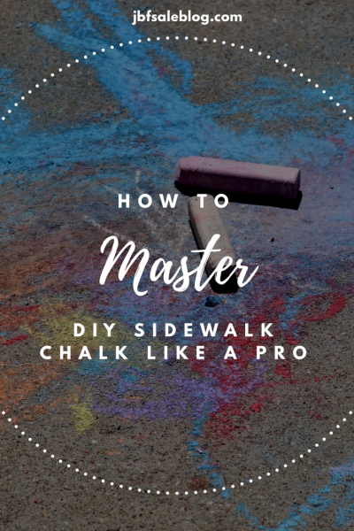 How to Master DIY Sidewalk Chalk Like a Pro