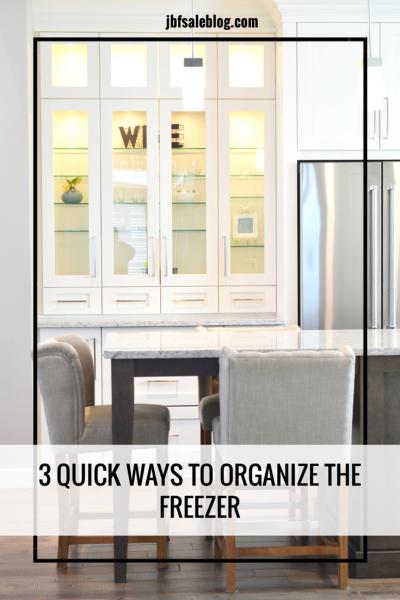 3 Quick Ways to Organize The Freezer