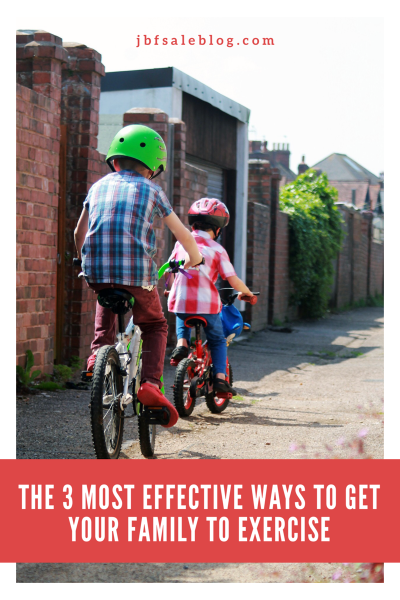 The 3 Most Effective Ways to Get Your Family to Exercise