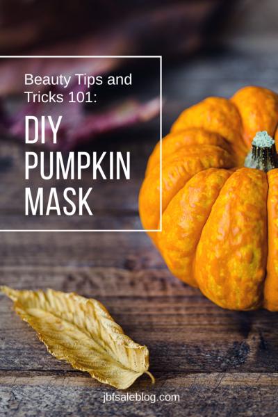 Beauty Tips and Tricks 101: DIY Pumpkin Mask