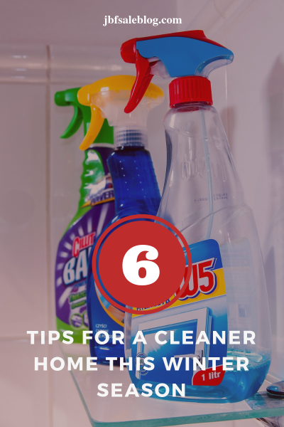 6 Tips For a Cleaner Home This Winter Season