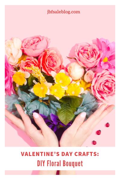 Valentine's Day Crafts: DIY Floral Bouquet