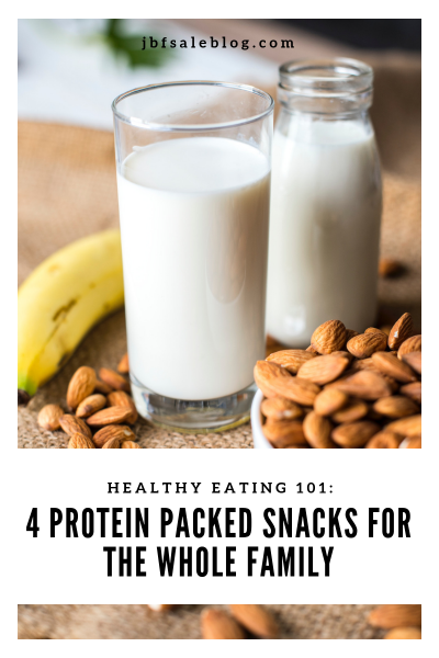 Healthy Eating 101: 4 Protein Packed Snacks for The Whole Family