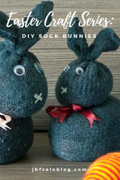 Easter Craft Series: DIY Sock Bunny
