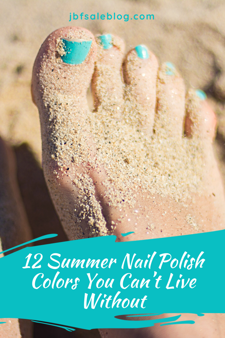 12 Summer Nail Polish Colors