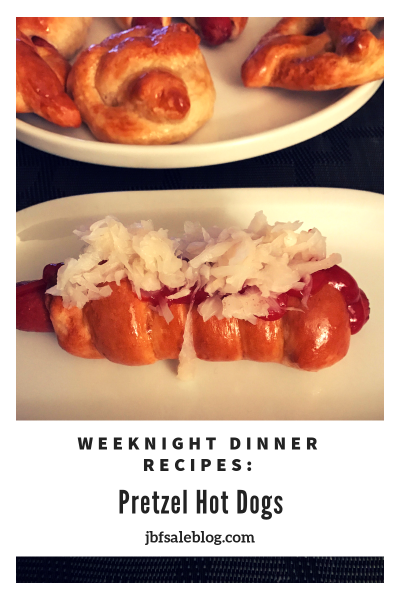 Weeknight Dinner Recipes: Pretzel Hot Dogs