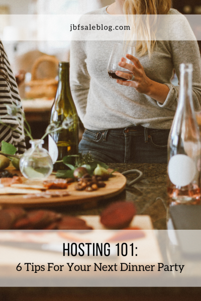 Hosting 101: 6 Tips for Your Next Dinner Party
