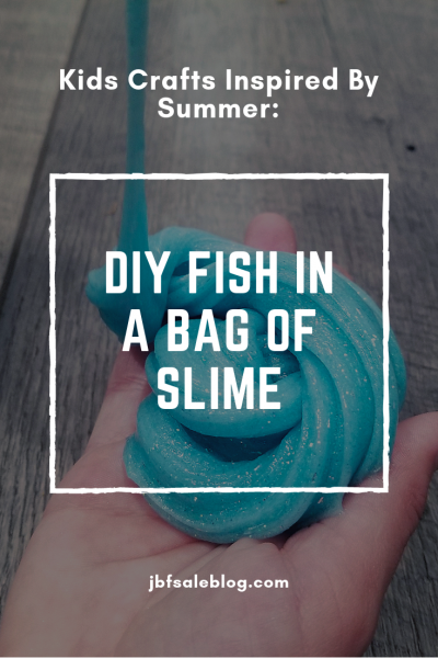 Kid's Crafts Inspired by Summer: DIY Fish in a Bag Slime