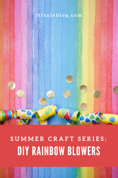 Summer Craft Series: DIY Rainbow Blowers