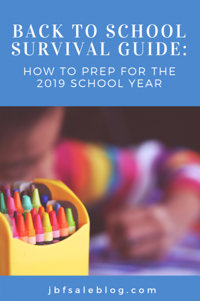 Back to School Survival Guide: How to Prep for The 2019 School Year