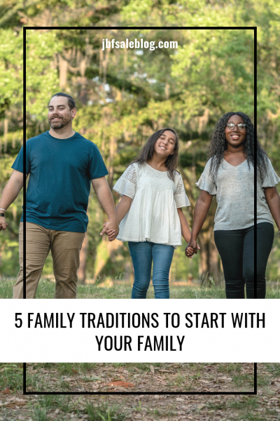 5 Family Traditions to Start With Your Family