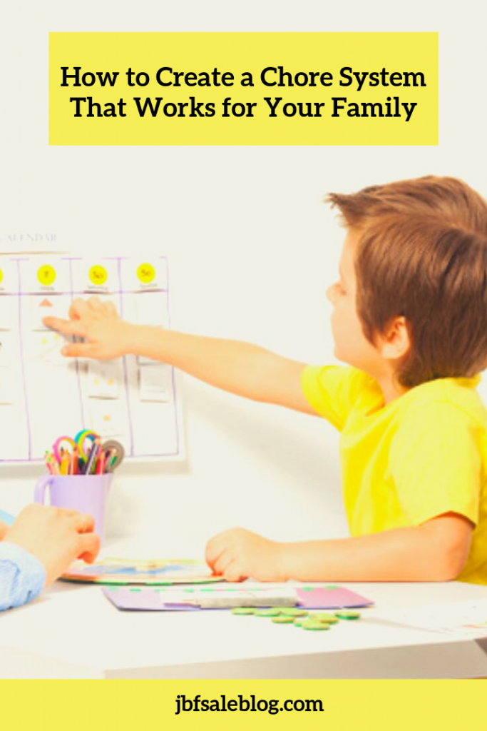 How to Create a Chore System That Works for Your Family
