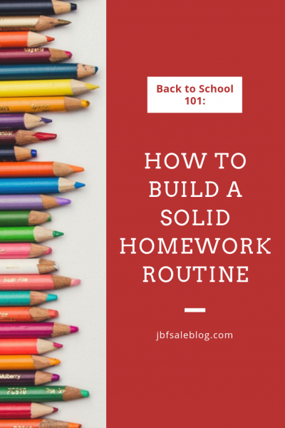 How to Build a Solid Homework Routine