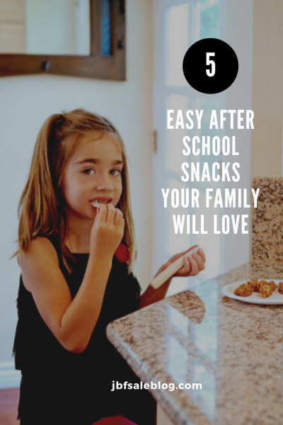5 Easy After School Snacks Your Family Will Love