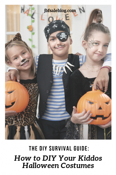 The DIY Survival Guide: How to DIY Your Kiddos Halloween Costumes