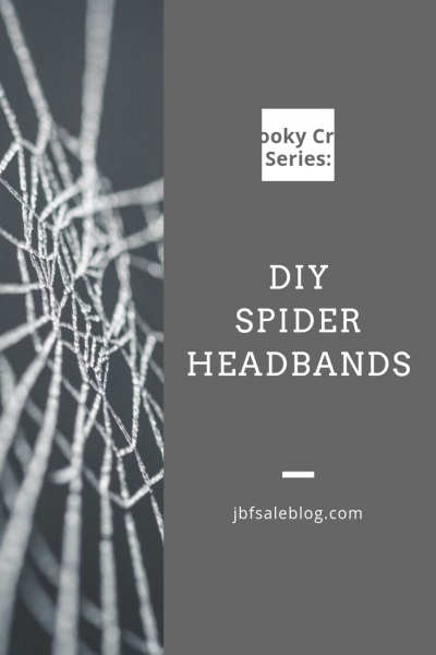 Spooky Craft Series: DIY Spider Headbands