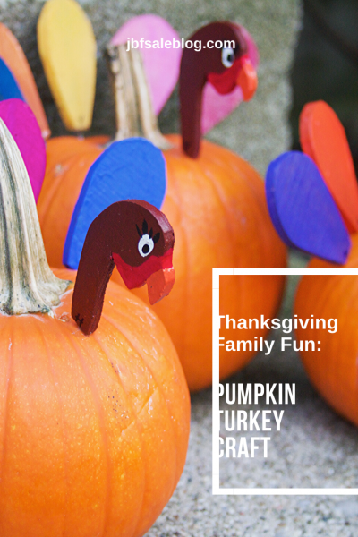 Thanksgiving Family Fun: Pumpkin Turkey Craft