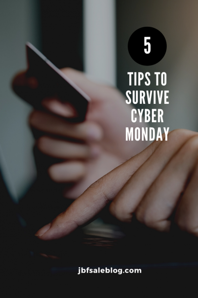 5 Tips to Survive Cyber Monday