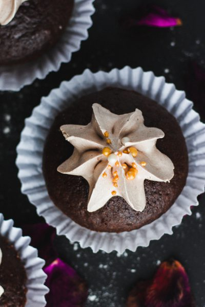 Warm and Cozy Dessert Recipes: Hot Chocolate Cupcakes